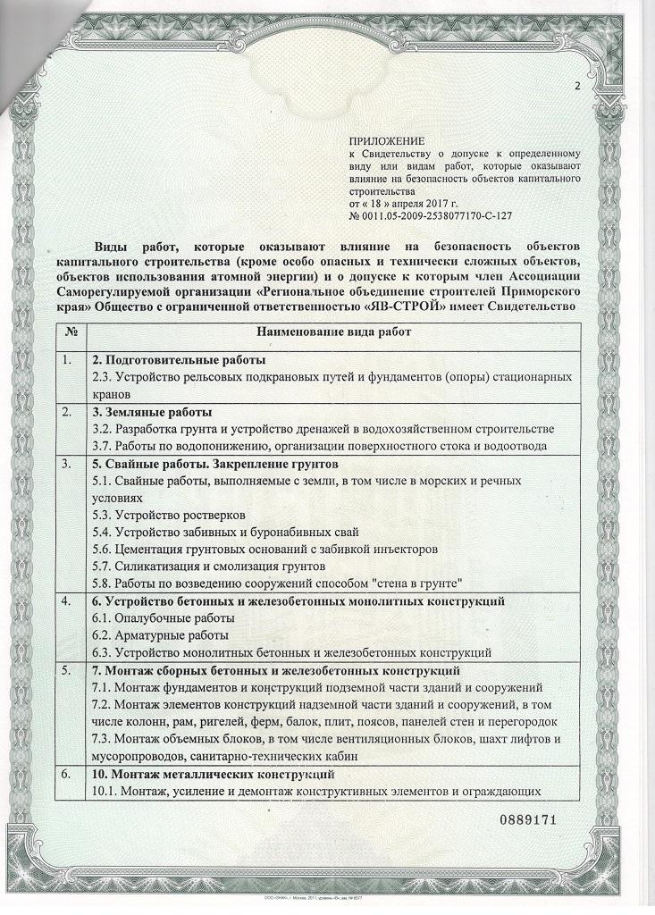 Лицензия СРО стр.2